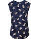Patagonia W's June Lake Dress Mariposa Lily: Classic Navy